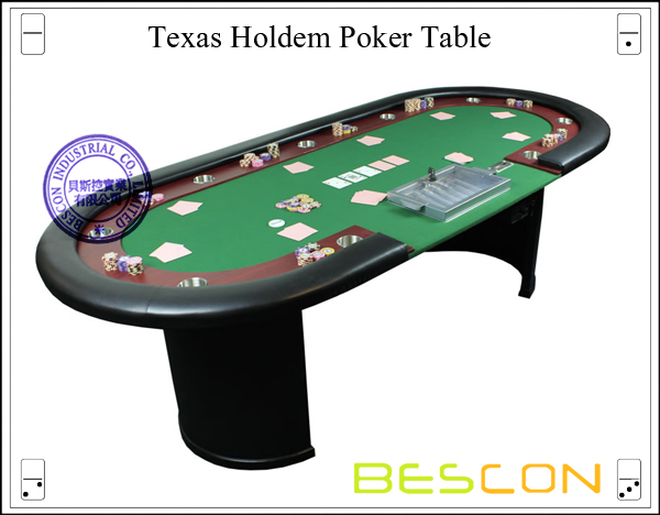 China professional luxury semicircle solid wood poker for 10 person poker table top