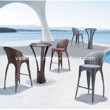 Model Outdoor Rattan Wicker Beach Bar Stool Furniture