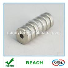 permanent ring diametric magnetization magnet
