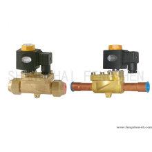 Bi-flow solenoid valve