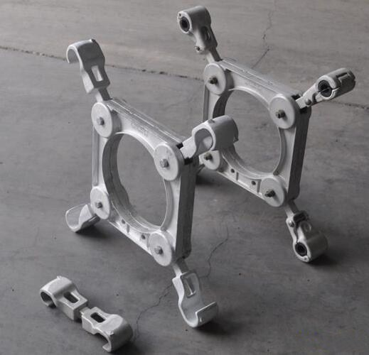 Hot-dip Galvanized Jumper Suspension Clamp