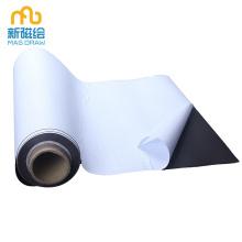 Rolo de ímã adesivo - ímã com apoio adesivo