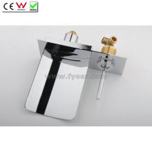 Stainless Steel Spout Waterfall Wall Mounted Bath Faucet (QH0500WS)