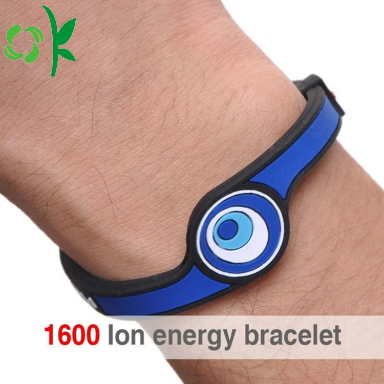 Eye Shape Silicone Power Bands 5