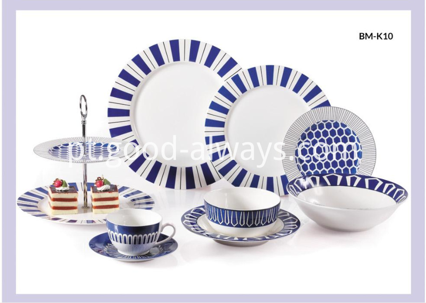 New Bone China Dinnerware