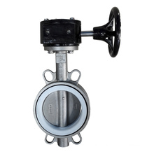 Lug Type Stainless Steel Butterfly Valve with Lever Operator