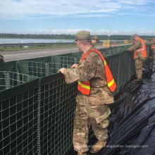 Military Protection Systerm Welded Wire Mesh Gabion Defense Hesco Barrier