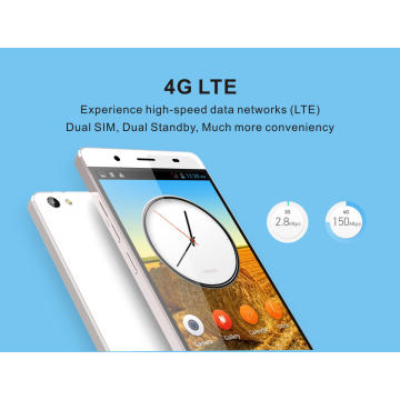2.5D Arc Screen Fingerprint Identification Mobile Phone 5.5′′ IPS