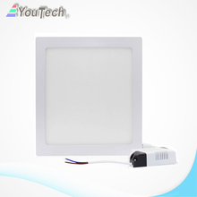 warm white 13w led square panel light