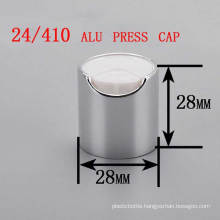 24/410 Alu/Plastic Disc Top Press Cap, Cosmetic Shampoo Bottle Cap