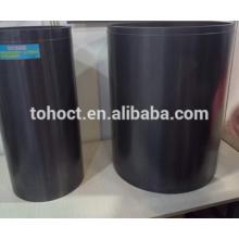 Grande taille en céramique céramique de carbure de silicium céramique réfractaire tube creuset