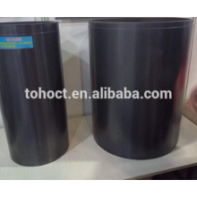 Large size ceramic silicon cabide ceramic refractory ceramic tube crucible