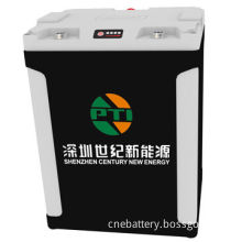 12V/180Ah Rechargeable LiFePO4 Battery Pack for Electric Golf Cart and Patrol Car