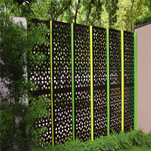 Aluminum perforated sheet for screen
