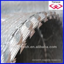 heavy galvanized razor barbed wire (Manufacturer & exporter)