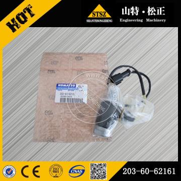 Komatsu genuine parts PC60-7 solenoid valve 203-60-62161