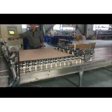 Máquina paletizadora magnética automática para latas de aerossol, tornando a linha de produção