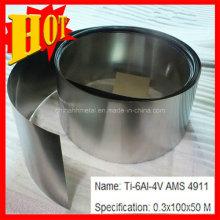 Hoja de titanio ASTM B265 Gr 5 con el mejor precio