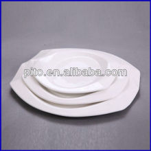 crystal oval plate