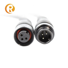 Free Samples 3 Pin Ip68 Connector In Outdoor Power Waterproof Cable