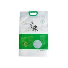 Bolsa de plástico para arroz con sellado térmico con asa