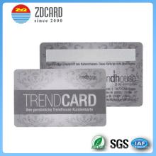 Cartão do PVC do membro do hotel da impressão deslocada para personalizado