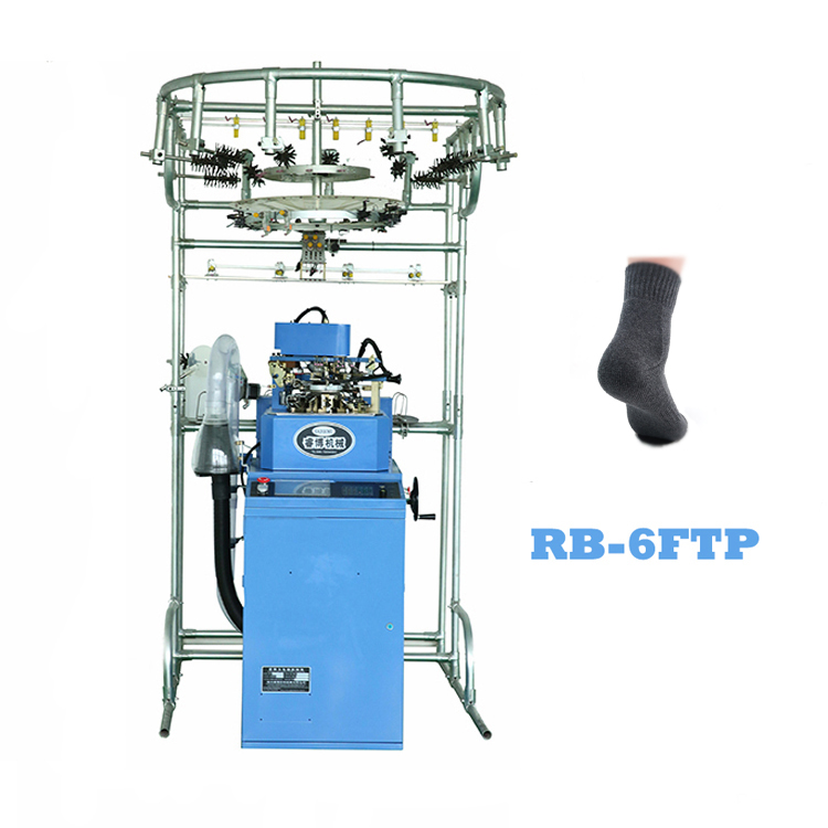 fully automatic new condition jacquard sock knitting machine