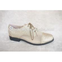 Los zapatos de las mujeres de Brockden planos más el tamaño único de la vendimia de los zapatos El estilo británico de muy buen gusto del estilo de Gleit calza los zapatos femeninos