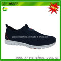 Sapatos de desporto ligeiro respirável China Men Slip-on