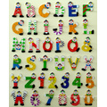 Wooden Alphabets & Numbers with Hand Painting (81461 & 81462)