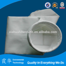 Sac de filtre à air à poussière de polyester en ciment