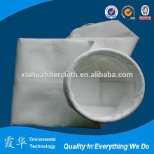 Bolsa de filtro de ar de pó de poliéster de cimento