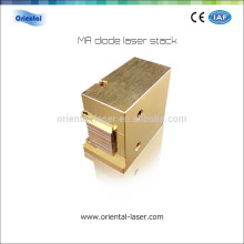 Special design 808nm laser hair removing machine diode piles