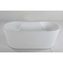 Banheira de imersão autônoma em acrílico branco