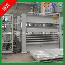 Machine de pressage à chaud en bois pour machine à stratifier de meubles