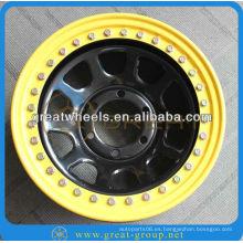 Rueda 4x4 SUV, 15inch-17 pulgadas SUV rueda beadlock