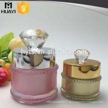 5g 10g Kosmetik Acryl Sahneglas mit Diamantkappe