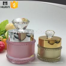 5г 10г косметические акриловые крем банку с алмазной крышкой
