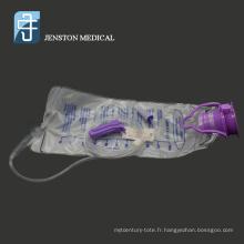 Ensemble de sacs d'alimentation entérale jetables médicaux