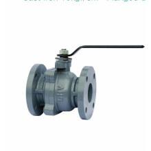 cast iron flange ball valve pn16