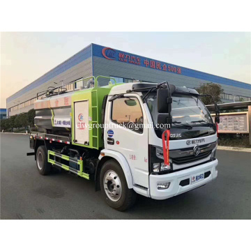 Dongfeng 170hp Jet Dredging Vacuum Sewage Suction Truck