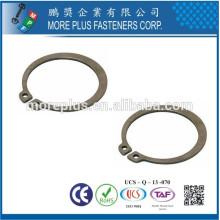 Fabriqué en Taiwan Anneau de retenue en acier au carbone Basic Circlip interne DIN471