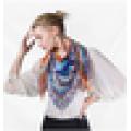 Inverno cachecol moda atacado cachecol mágico de design personalizado impressão de seda