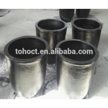 Cadinho de silicone cerâmico cônico de carbeto de silício