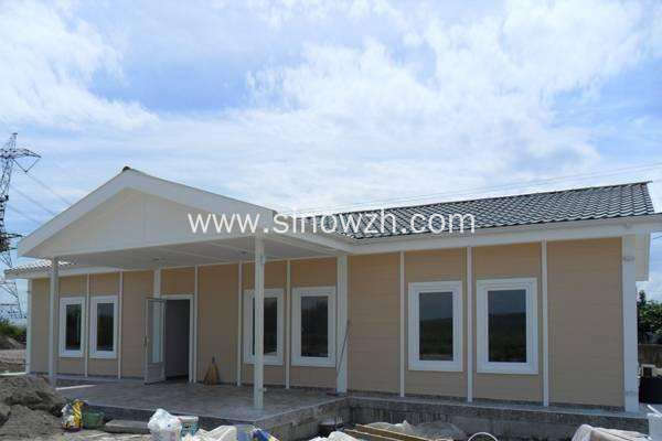 120Sqm Prefab Cottage at Countryside