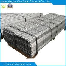 Nervure métallique pour matériaux de construction utilisant