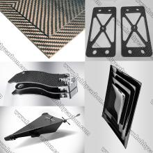 3K Woven Pure Carbon Fiber Sheet for Multi-rotors