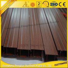 Fenêtre d'obturation en aluminium Zhonglian Wood Grain