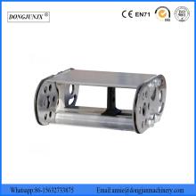 Chaîne de dragage en métal pour rail porte-câbles en acier