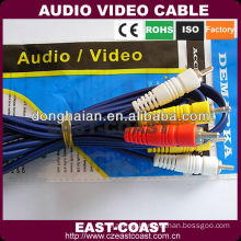 changzhou 3 rca audio cable